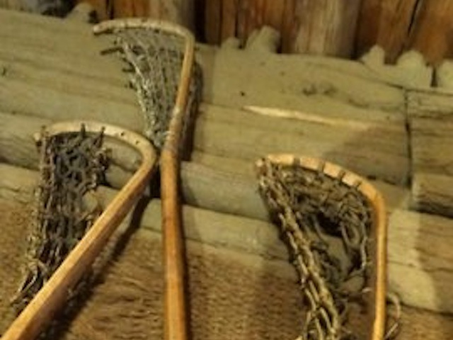 Stickball rackets | Enemy Arrows by Will O'Hara