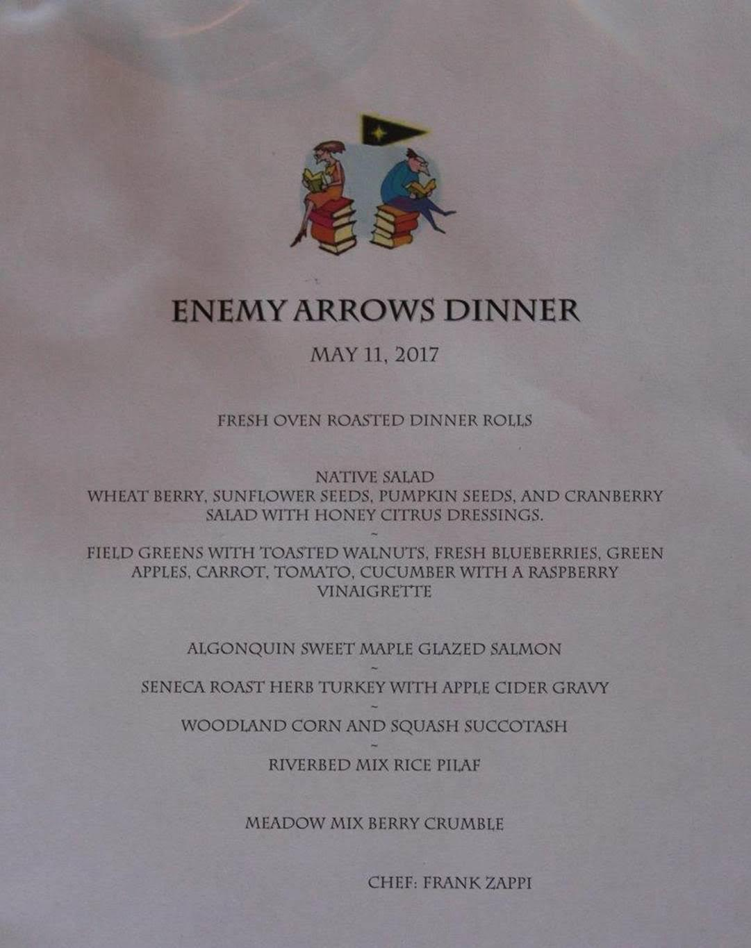 Enemy Arrows by Will O'Hara   book event at Mimico Cruising Club