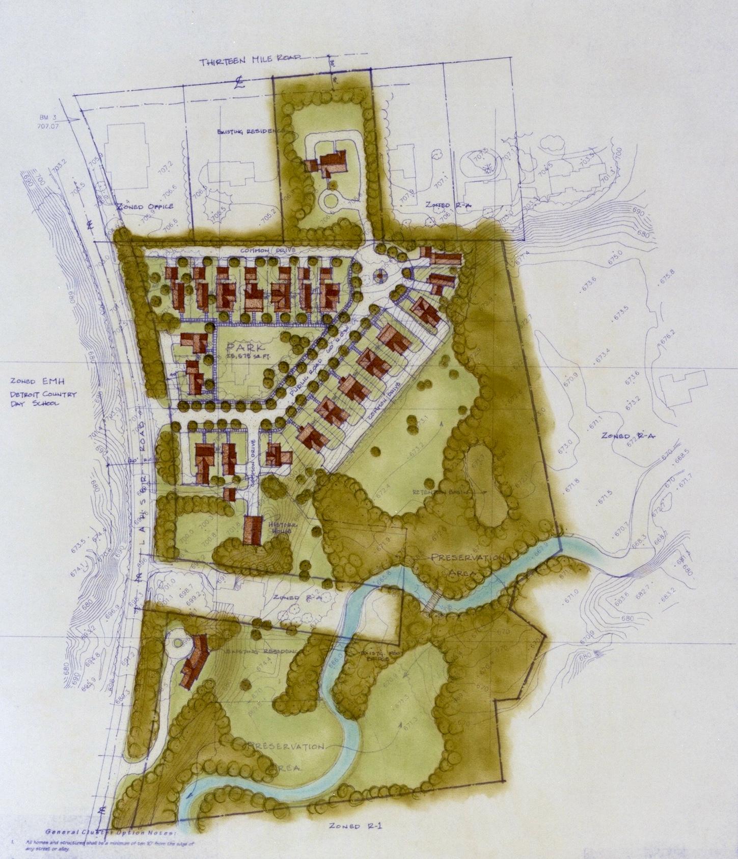 Westwood Site Plan
