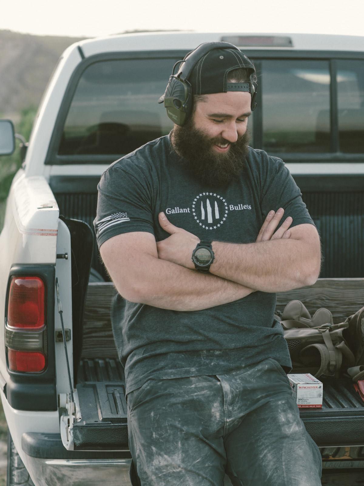 GALLANT BULLETS MEN'S FIRST ORIGINAL T-SHIRT