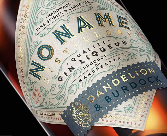 Been fiddling around with some of my designs in this packaging design 3D software called ic3D. Lots of fun learning this stuff and getting some neat results as well. This is the design for NoName Gin Liqueurs that I developed in good company with my friend, the distiller Filipe Sousa, owner of @faithandsons Cheers! #productdesign #packaging #packagingdesign #design #3D #rendering #craft #detail #gold #goldfoil #gin #liqueur #whisky #spirit #alcohol #ic3d #type #typography #lettering #victorian