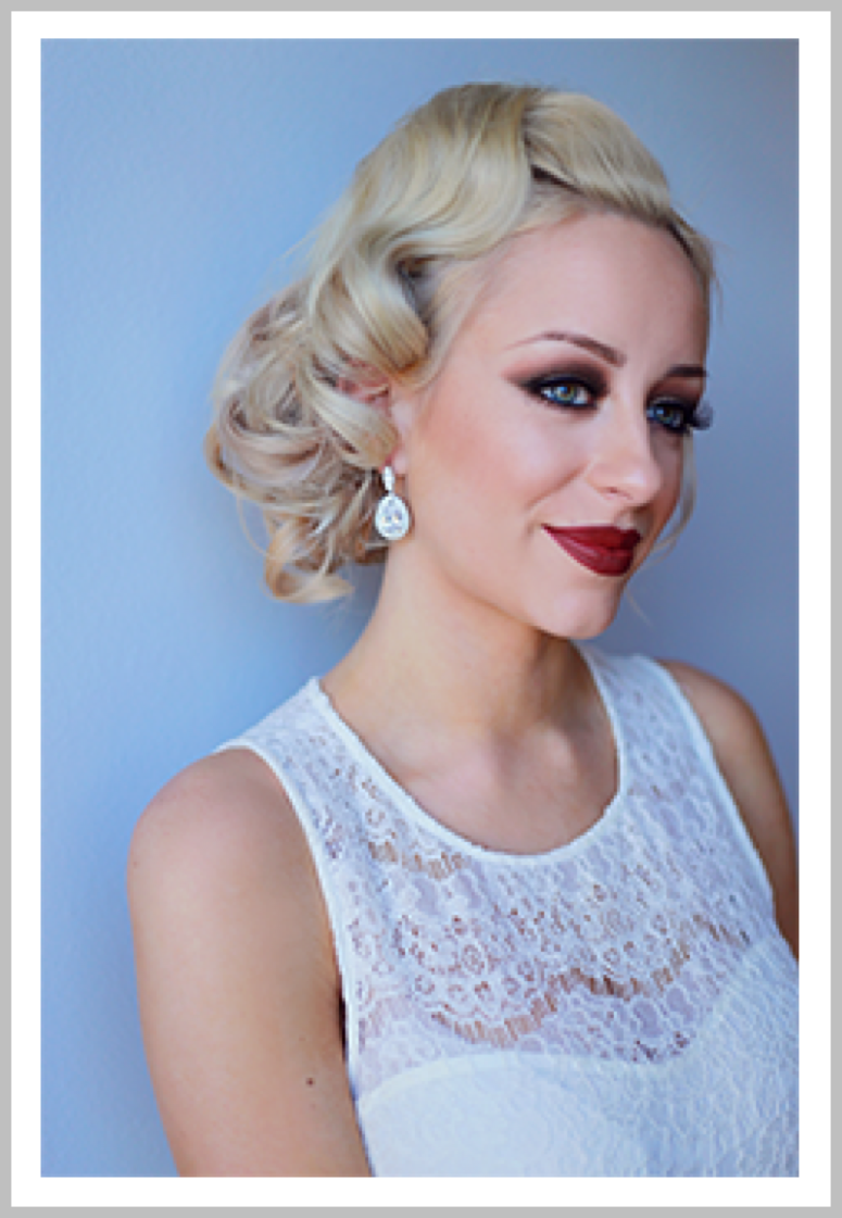 BELLE OF THE BALL:   Formal & fancy updo  .  Check out @vanitybelles on Instagram for our latest looks!