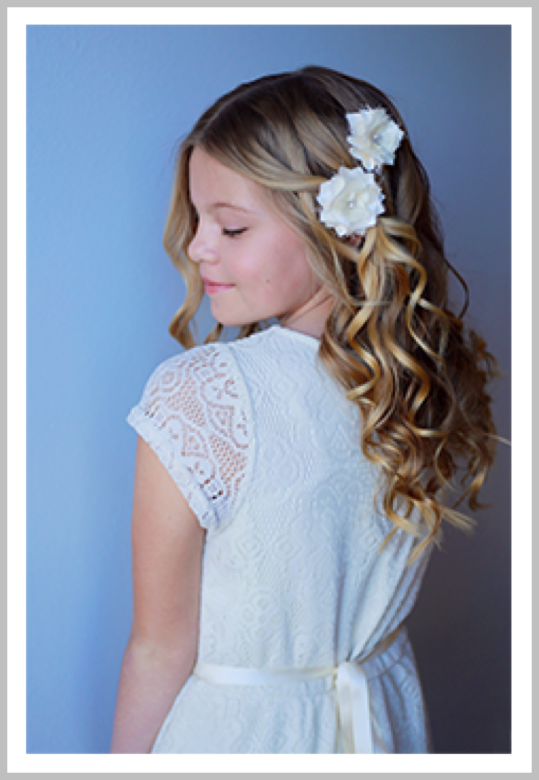 PRINCESS BELLE:   Shampoo & blowout with curls for our Belle's under 12.  Check out @vanitybelles on Instagram for our latest looks!