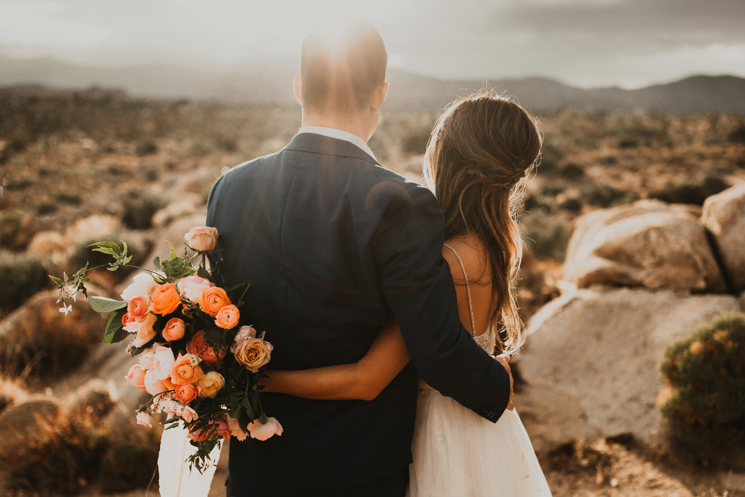 Sunset, wedding day photography, braid half up-do, wedding hair, wedding hair inspiration. Bridal Hair and Makeup by Vanity Belle in Orange County (Costa Mesa/Newport Beach) and San Diego (La Jolla)