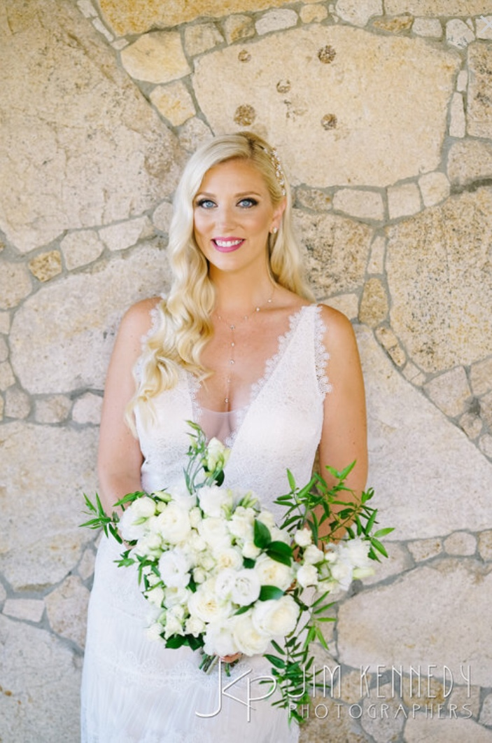 Bridal makeup and hair styles by Vanity Belle in Orange County, CA (Costa Mesa). Absolutely beautiful wedding looks. Destination wedding in Los Cabo Mexico.