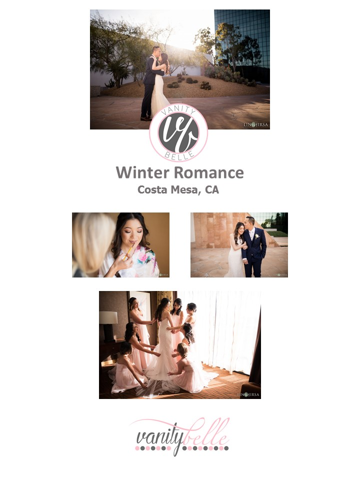 winter romance-wedding wednesday-bridal hair and makeup by Vanity in Orange County (Costa Mesa) and San Diego (La Jolla)-thevanitybelle.com