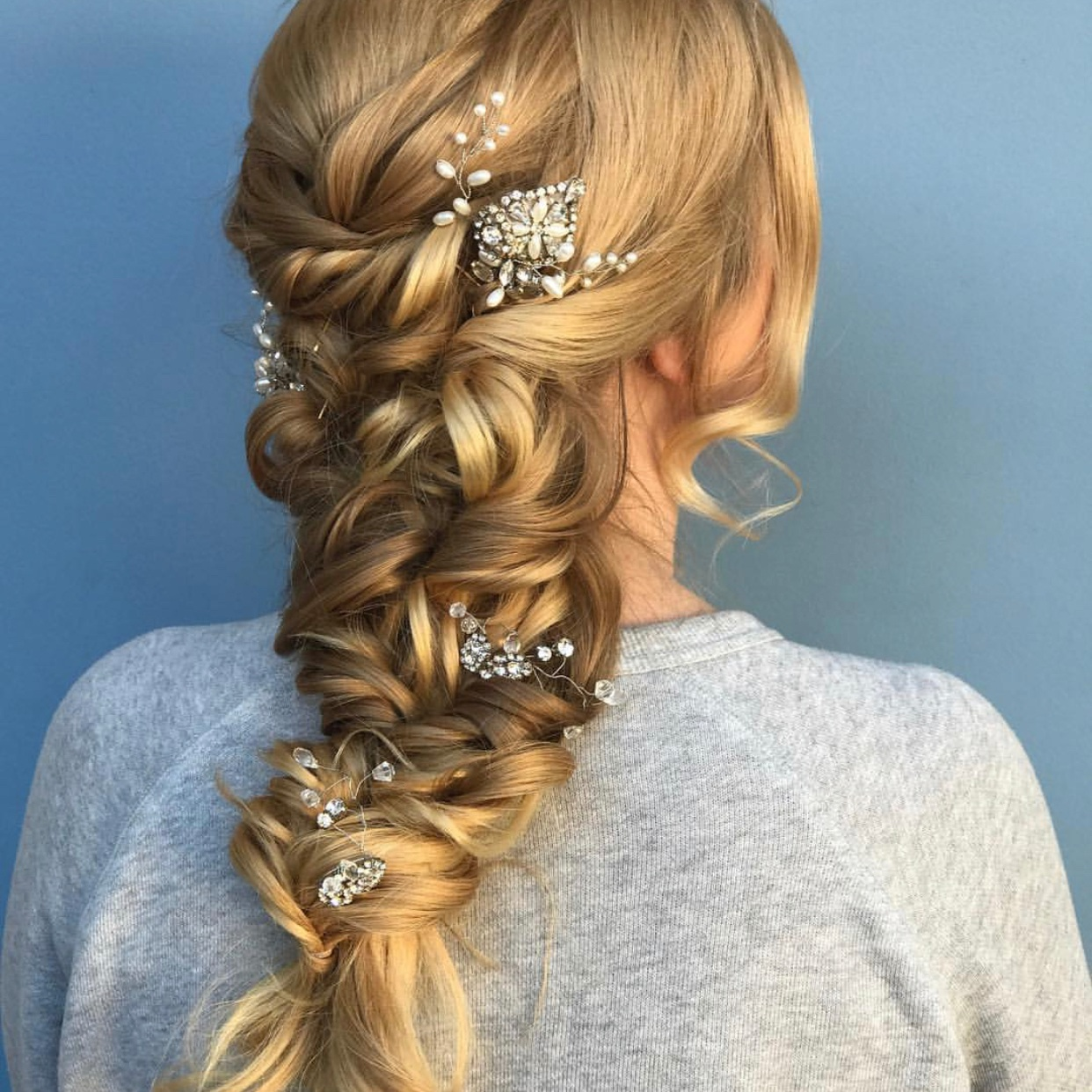 hair styling -