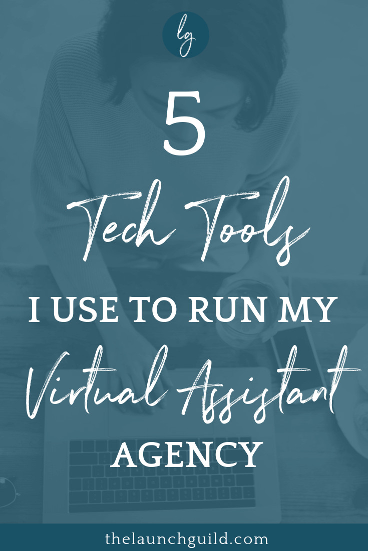 The 5 Tech Tools I use to Run my Virtual Assistant Agency | How I use Squarespace, Acuity, Teamwork, Dubsado and Slack as a Virtual Assistant