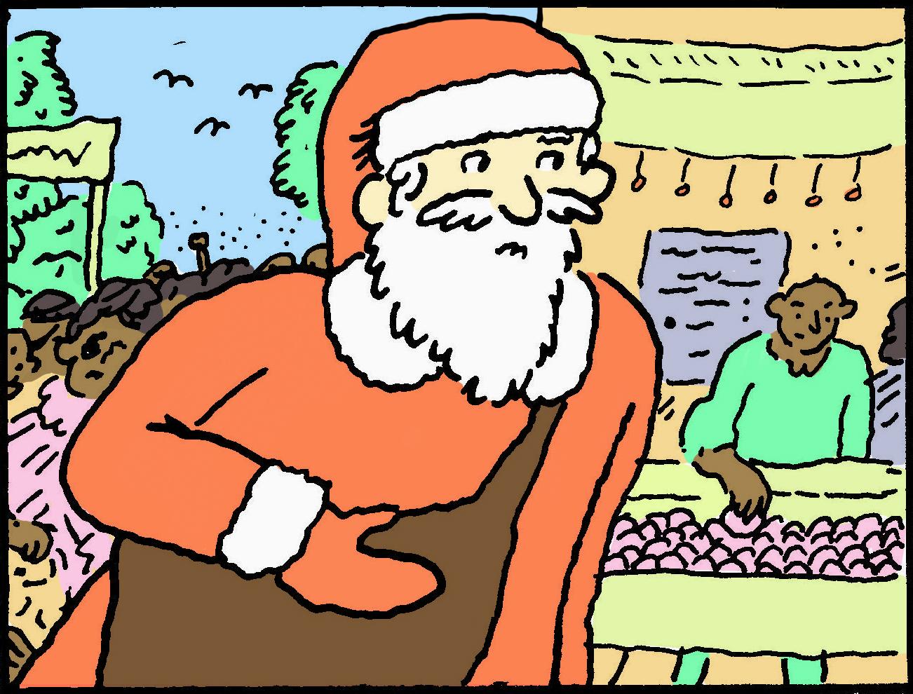 Santa in '64 -