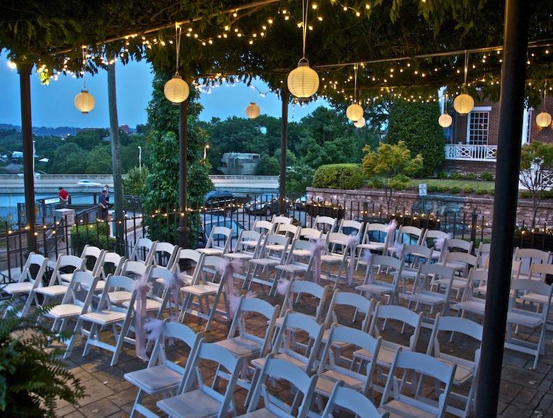 Bocce Court Outdoor Wedding Venue