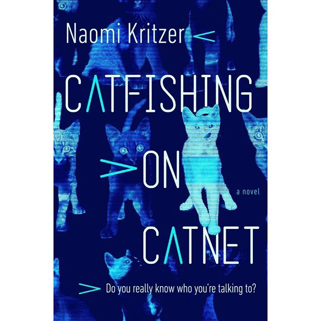 "A first look at Naomi Kritzer's near-future YA thriller ❗️A speculative fiction novel, Kritzer explores the pros and cons of creating community in the age of the internet. Kritzer's short story ""Cat Pictures Please"" won the Hugo Award, the Locus Award and was a finalist for the Nebula. You won't want to miss Kritzer's next work! Available November 19th! • • • #catfishing #coverreveal #internet #yalit #future #thriller #catnet #naomikritzer #hugoawared #locusaward #book #bookstagram #bookstagrammer #bookshelf #preorder"