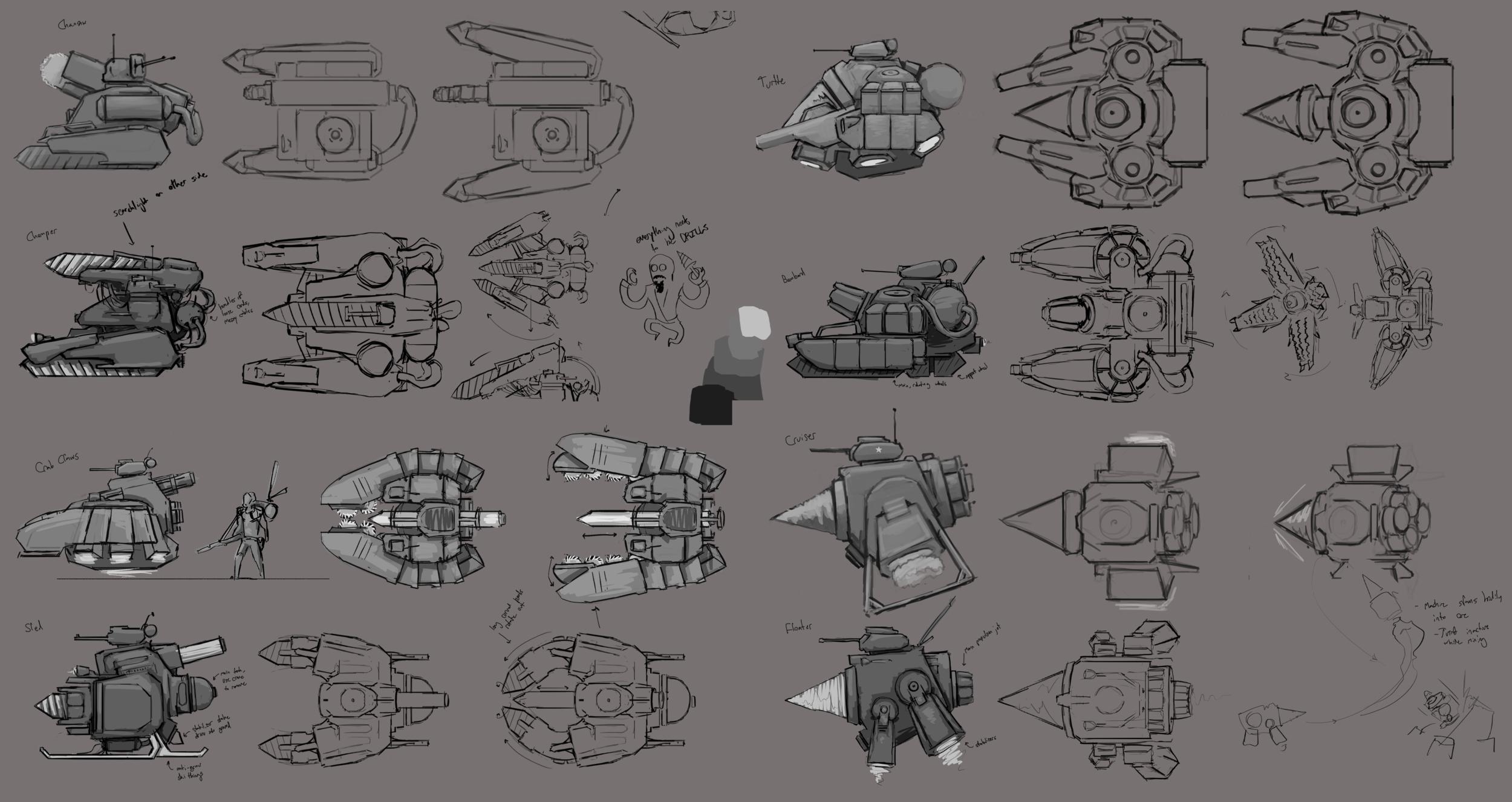 Rover Concept Sheet #2