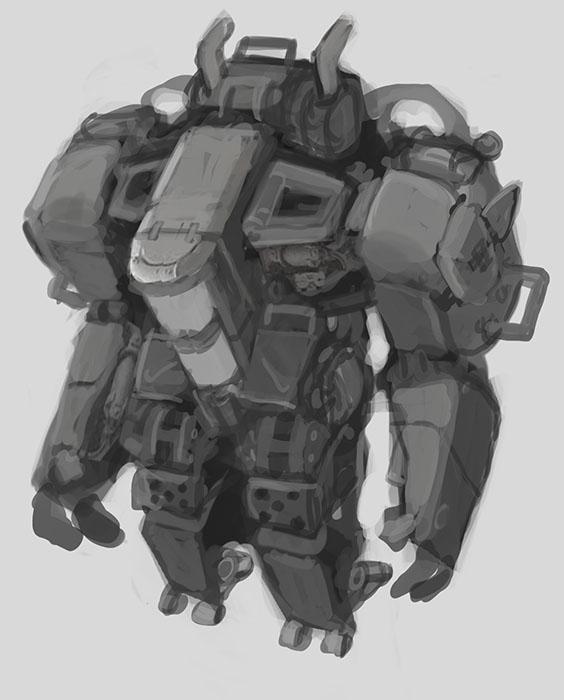 Mech Concept #1