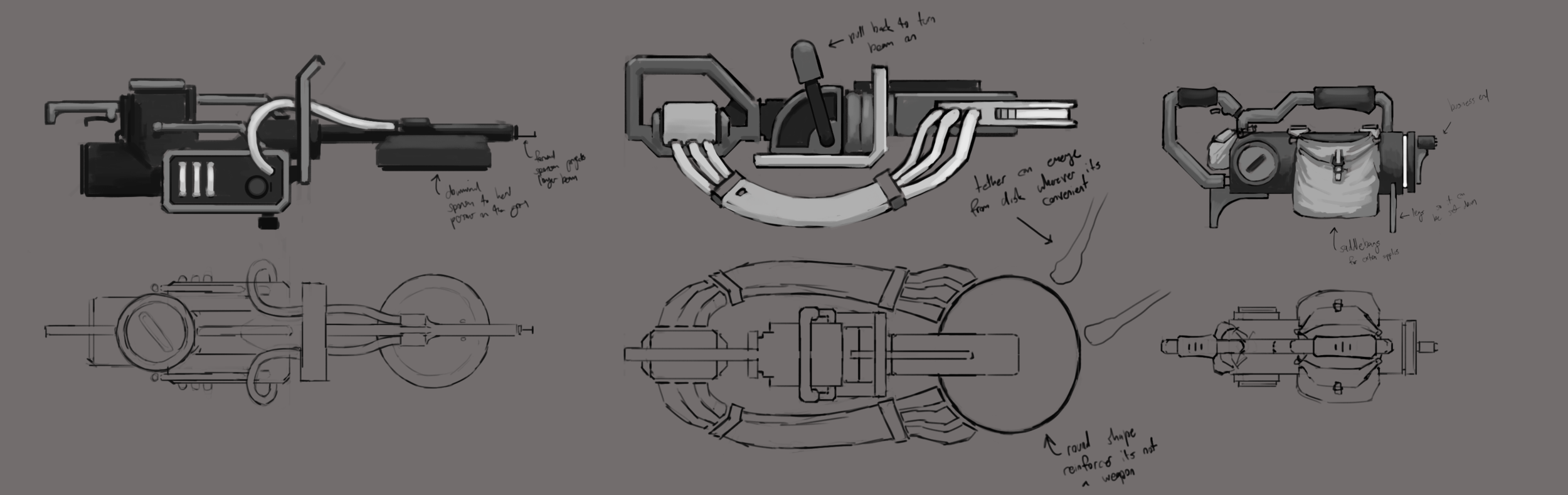 Weapon Concept Sheet #2