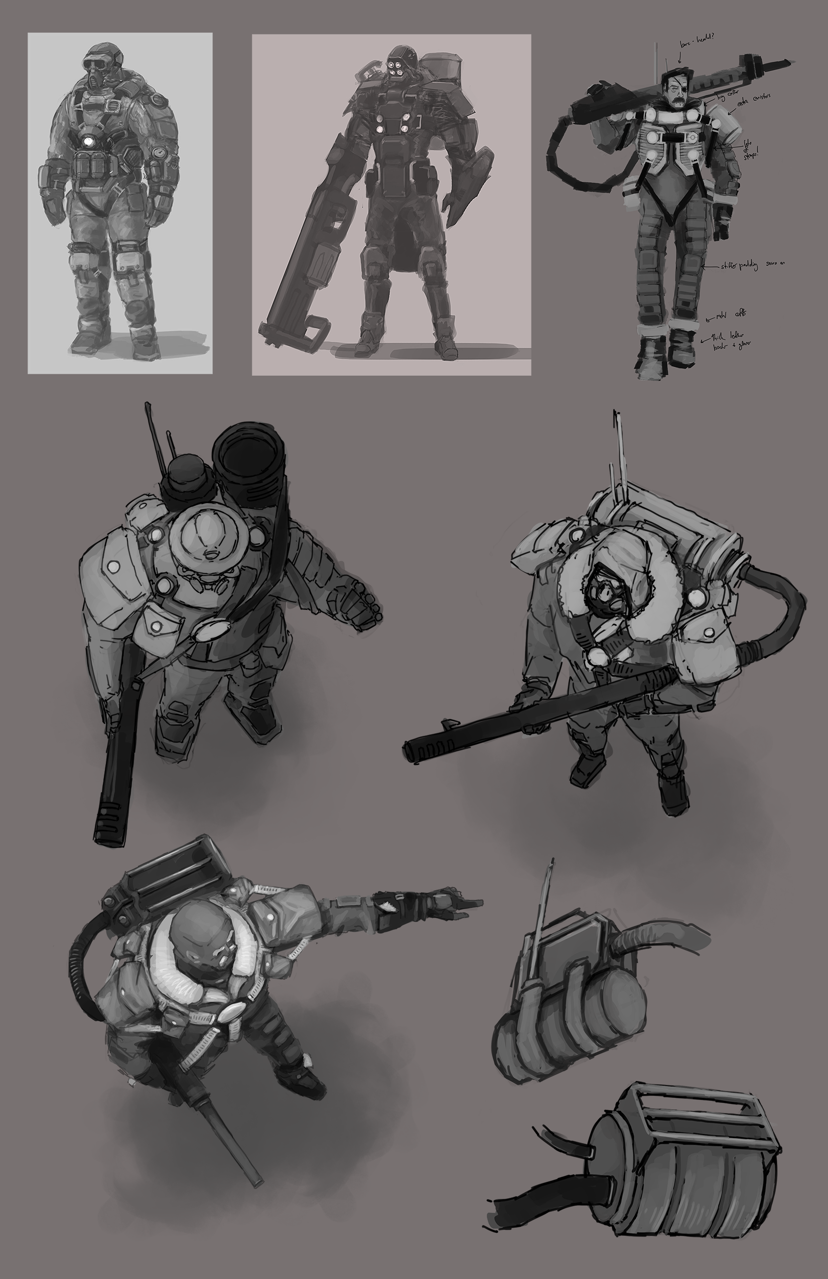 Character Concept Sheet #2