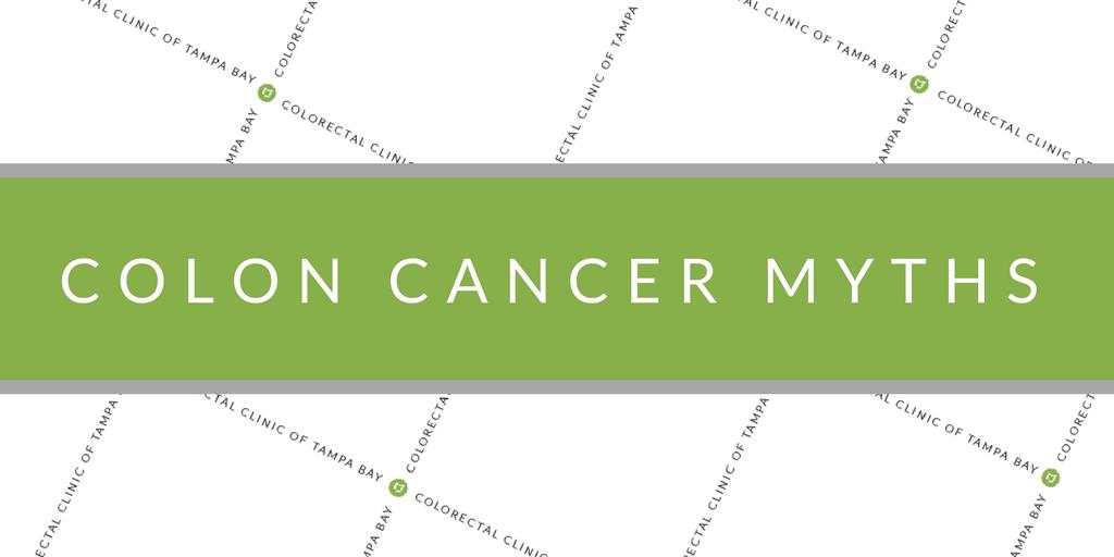 myths about colon cancer