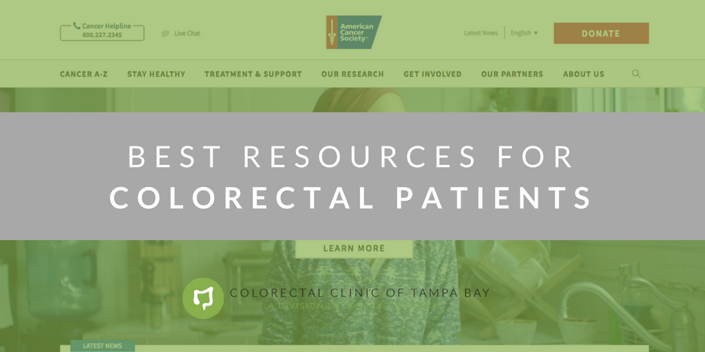 resources for colorectal cancer patients