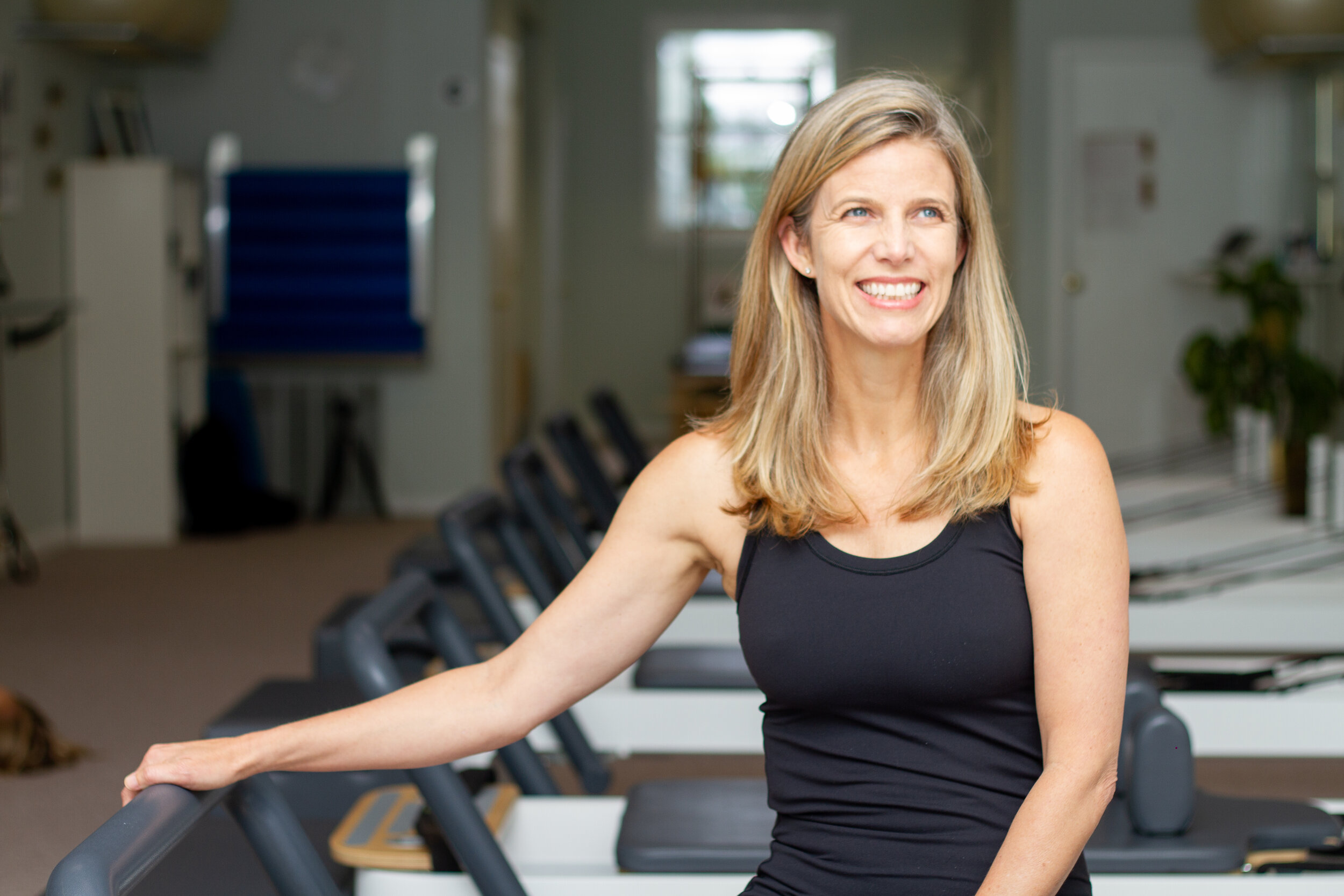 nikki blagden - who: Pilates instructor, Functional Range Conditioning Mobility Specialist and Restorative Exercise Specialisthometown: danville, camotto: move more, move differently, move often. movement matters.interesting fact: Jumped all in with Pilates after rehabbing a shoulder injury and realizing all the exercises she learned in PT were from Pilates class.