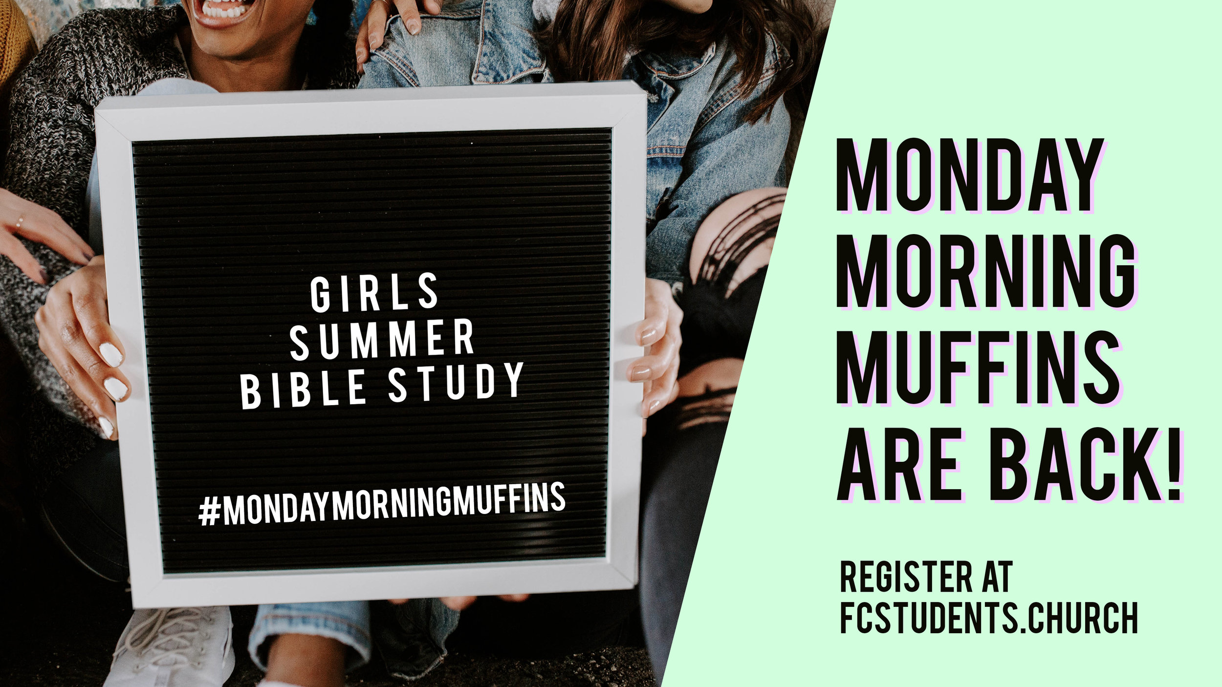 Girls Summer Bible Study!! - Join a group of girls seeking to grow closer to the Lord this summer, while eating some muffins along the way.