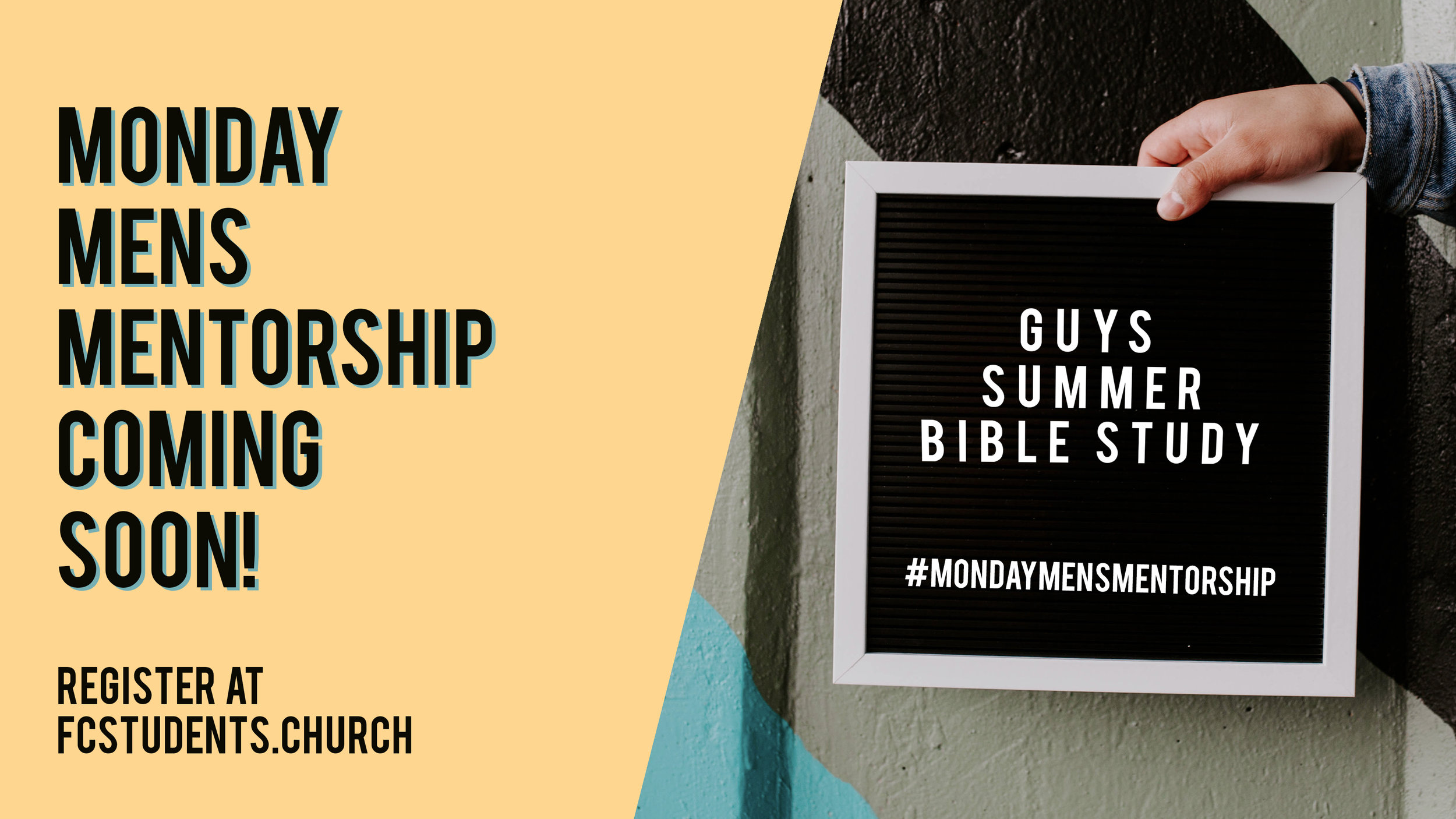 Guys Summer Bible Study!! - Join a group of men who are seeking to grow as brothers in Christ this summer. Growth SZN is here!!