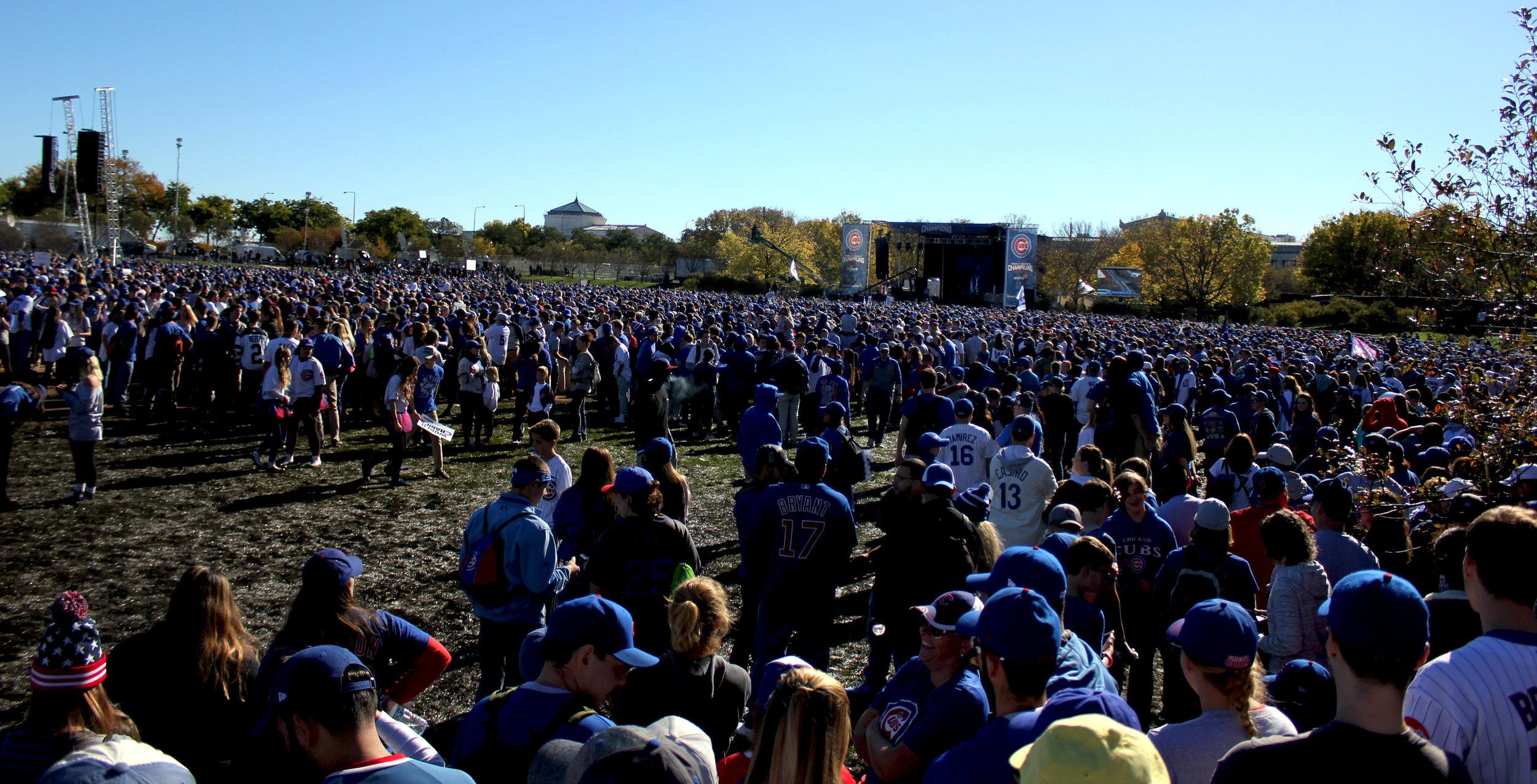 Cubs Grant Park Rally