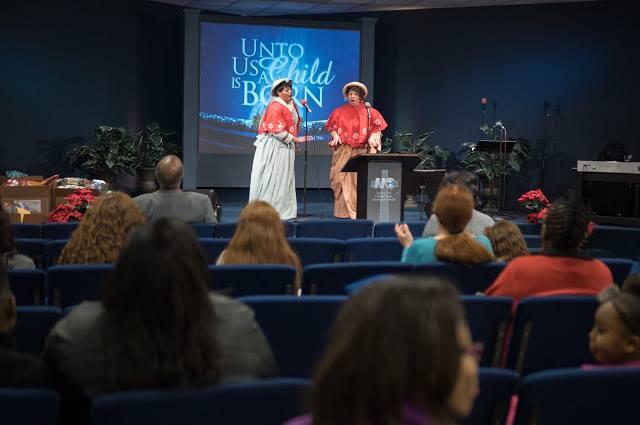 Holiday program at New Covenant Church