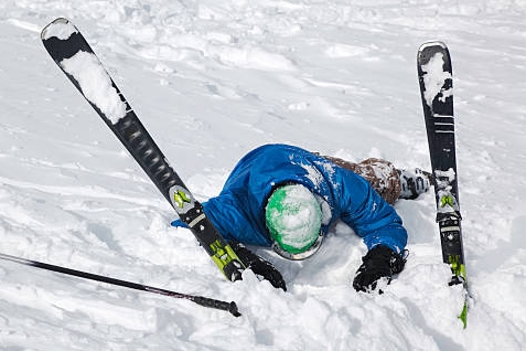 Skiing accidents are a very common mechanism of injury