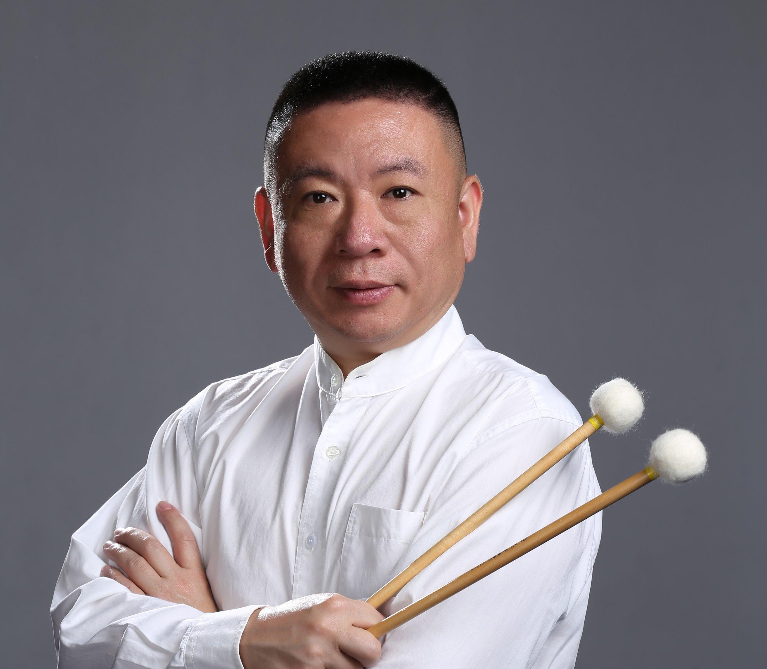 著名中国国家一级打击乐演奏家 周乐嘉: