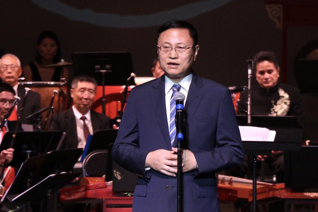 中國駐洛杉磯總領事館副總領事孫魯山