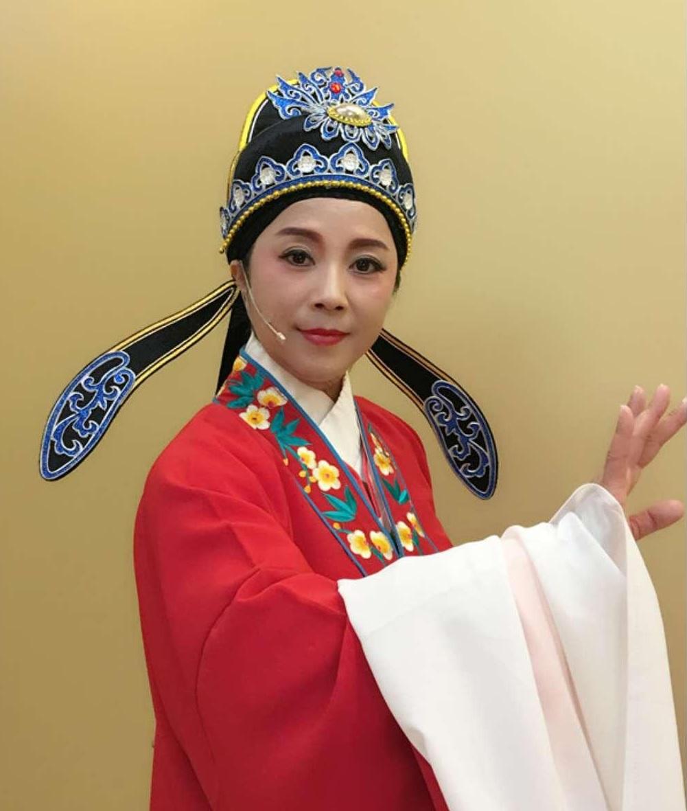 上海越剧院演员,毕业于上海戏剧学院的吴伊娜