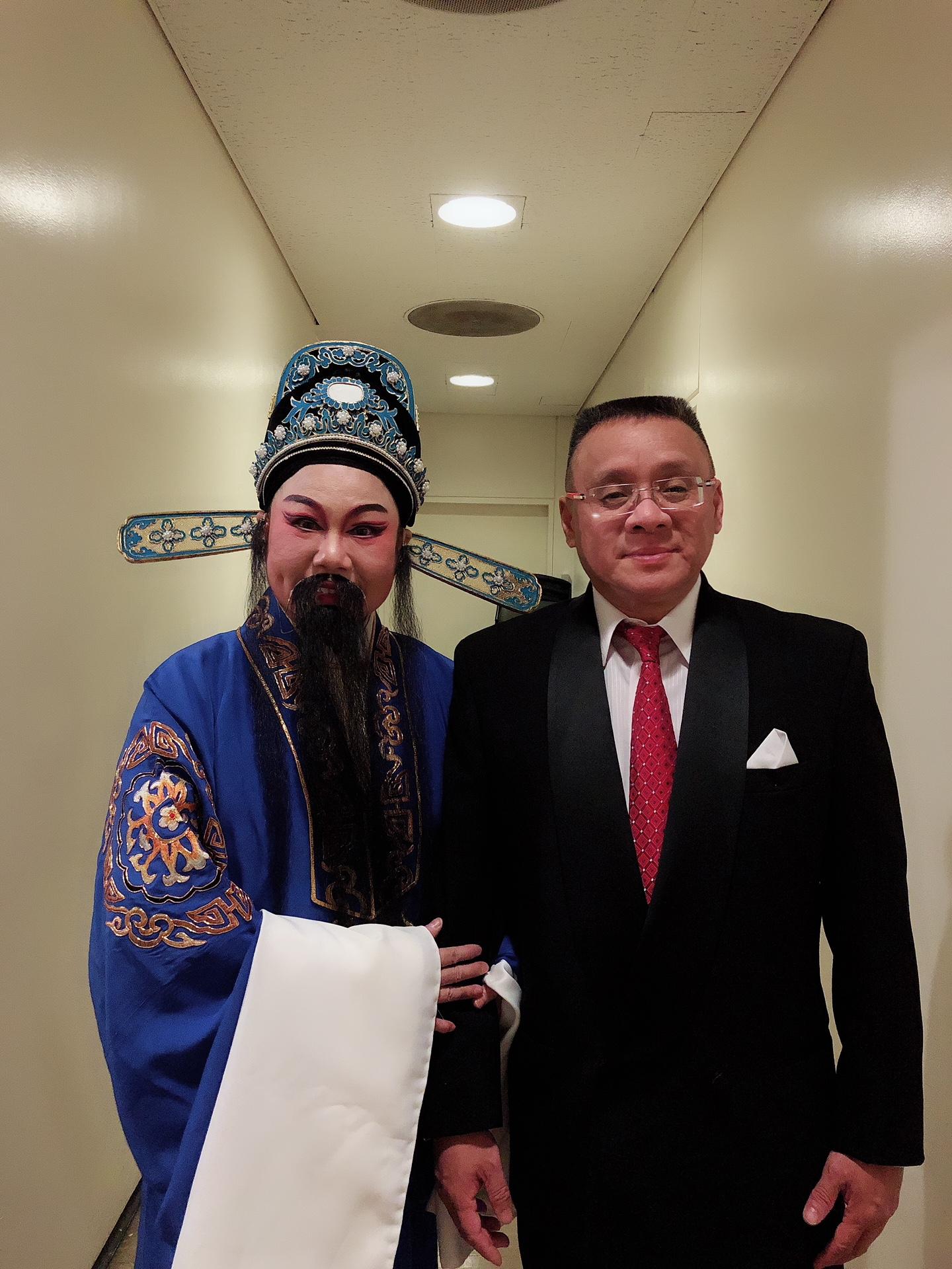 陈琴湘 ( 浙江绍兴小百花著名老生 )和李愔