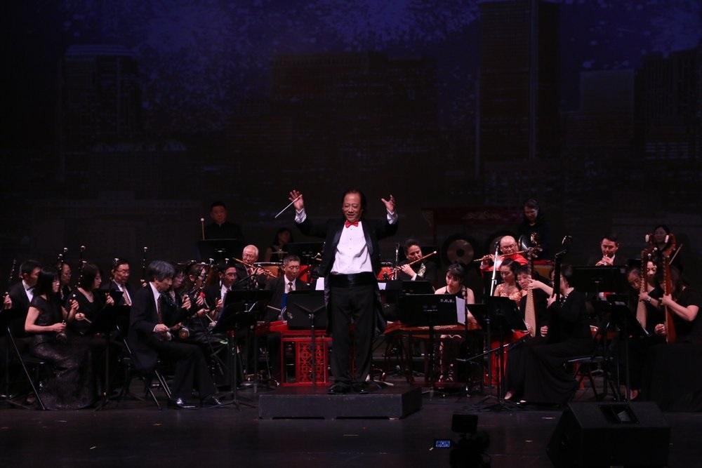 中华国乐团<ZCO>音乐总监、常任指挥汪大卫与中华国乐团 :【2018鹰飞龙腾新年新春音乐会】剧照