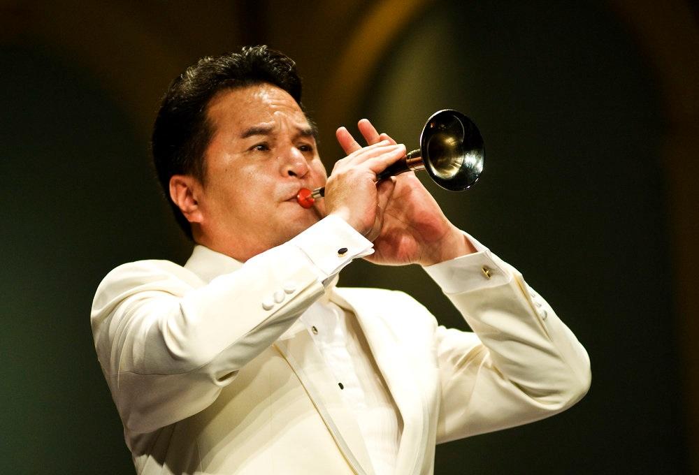 中国著名国家一级唢呐演奏家、<ZCO>艺术顾问左翼伟
