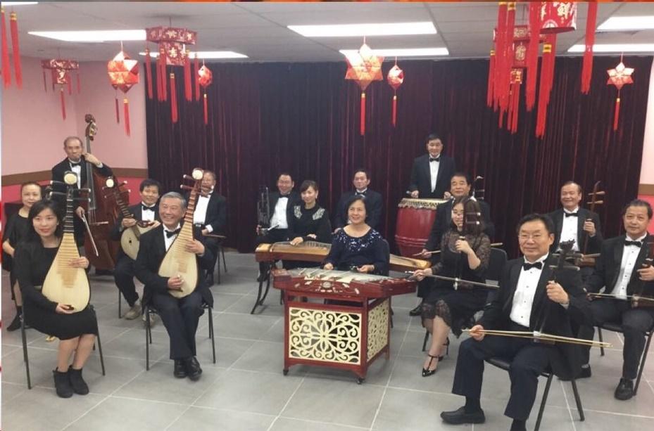 华美艺术团乐队