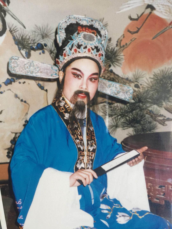 著名越剧名家陳琴湘,纽约华美艺术团、洛杉矶越剧之家当家老生