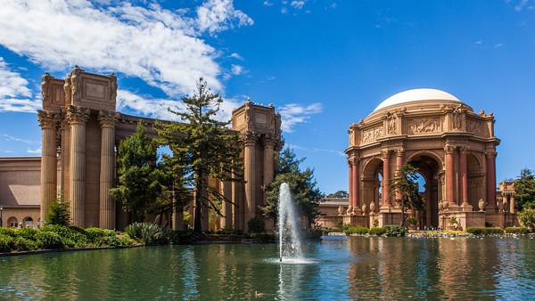 旧金山 艺术宫