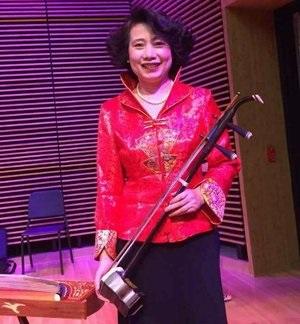 徐乐燕 :   二胡演奏家。 美中华人音乐家协会执行理事。