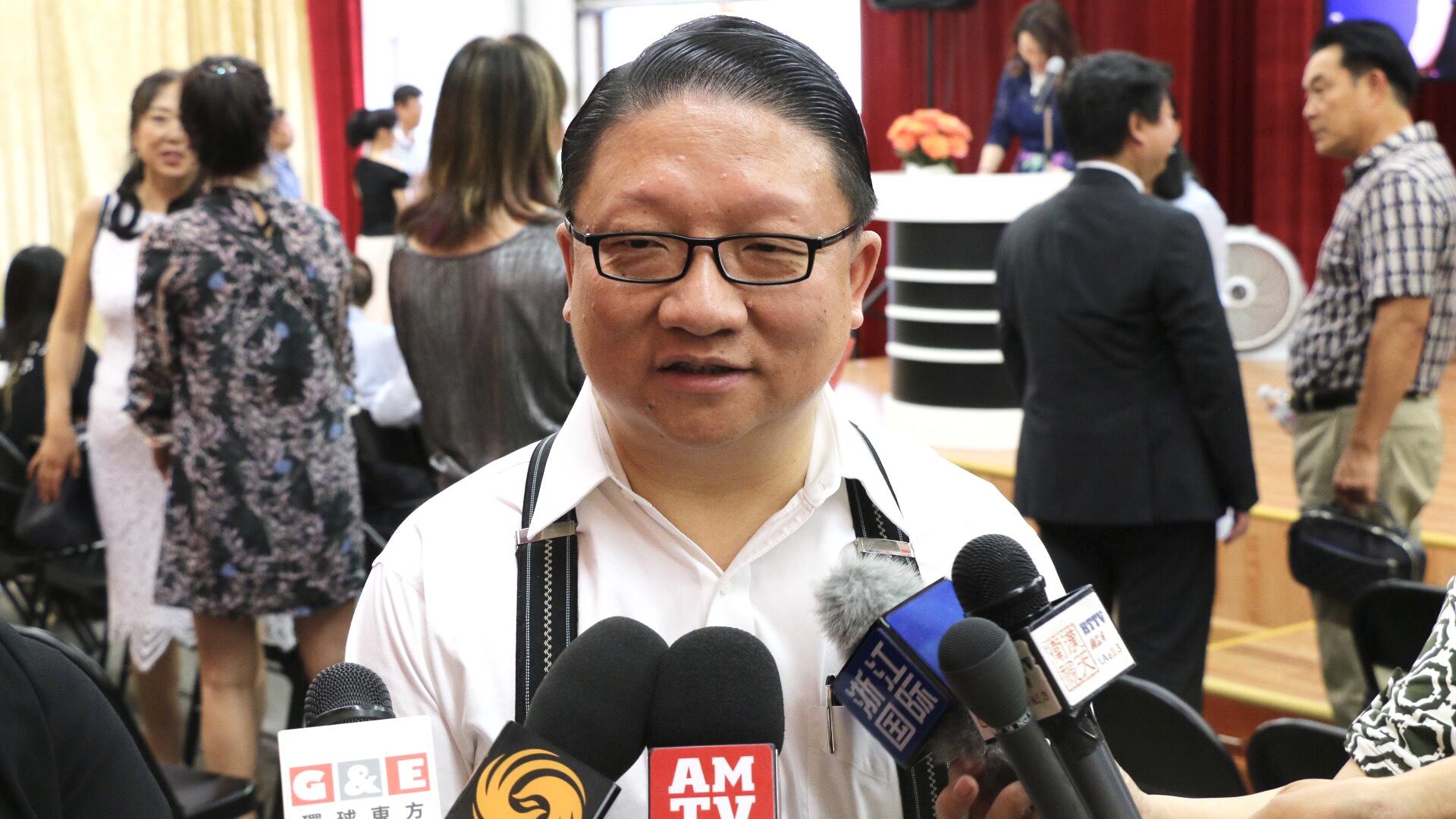 美国鹰龙传媒有限公司总裁、中美电影节主席苏彦韬