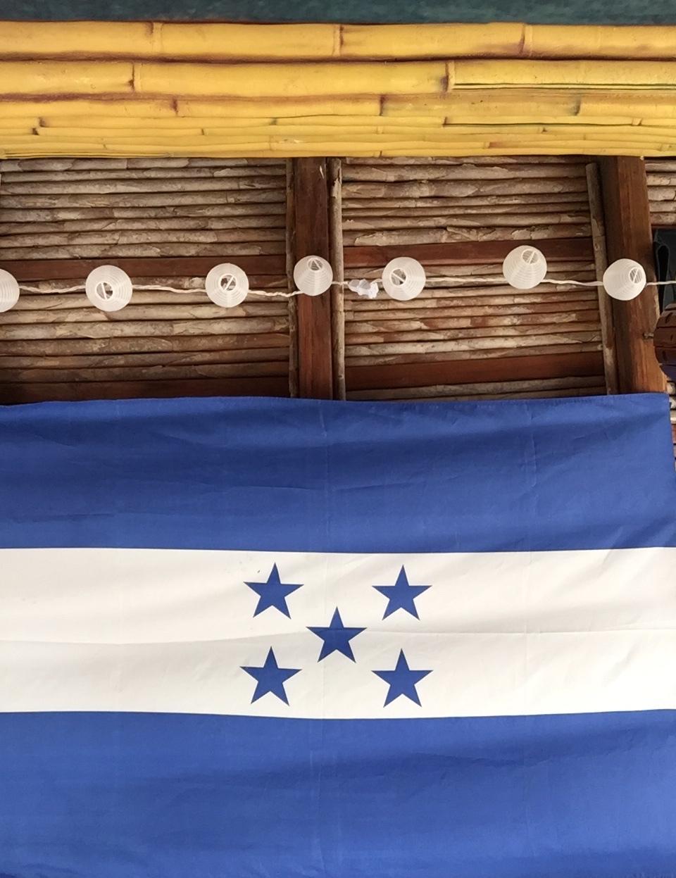 Honduras Flag - Lulu Matute