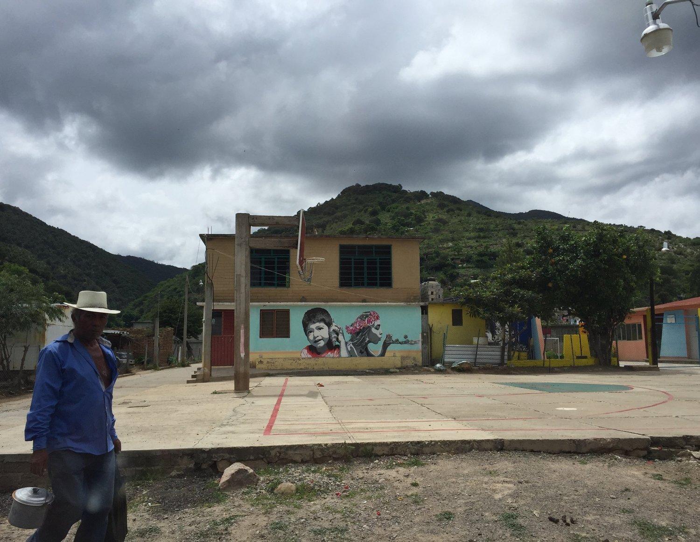 Oaxaca Mural - Lulu Matute