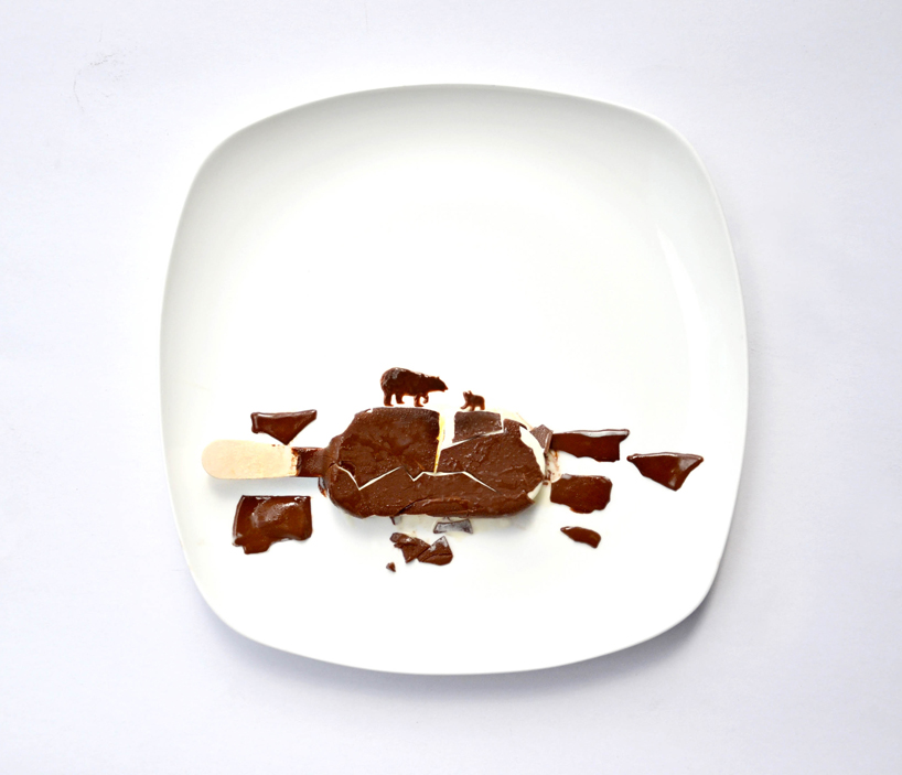 Arctic Melting by Hong Yi, who plays with her food. Over at the July 10 Daily Amazing.