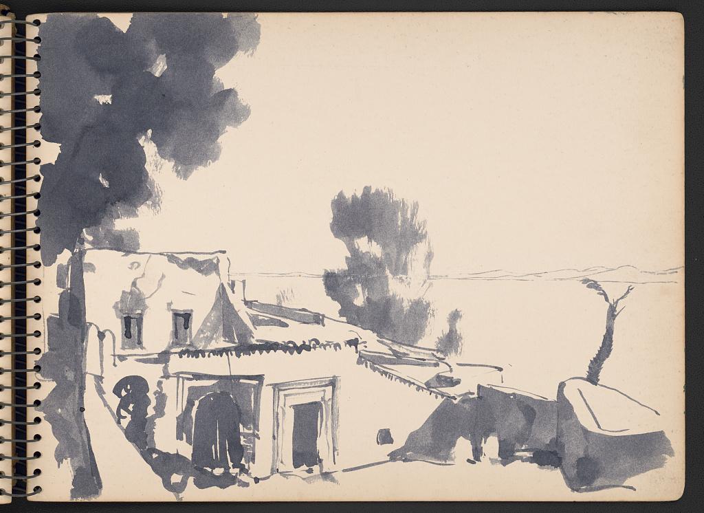 """""""old port Tunisia on rainy day"""""""