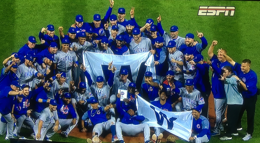 Oh yes! Cubs win!