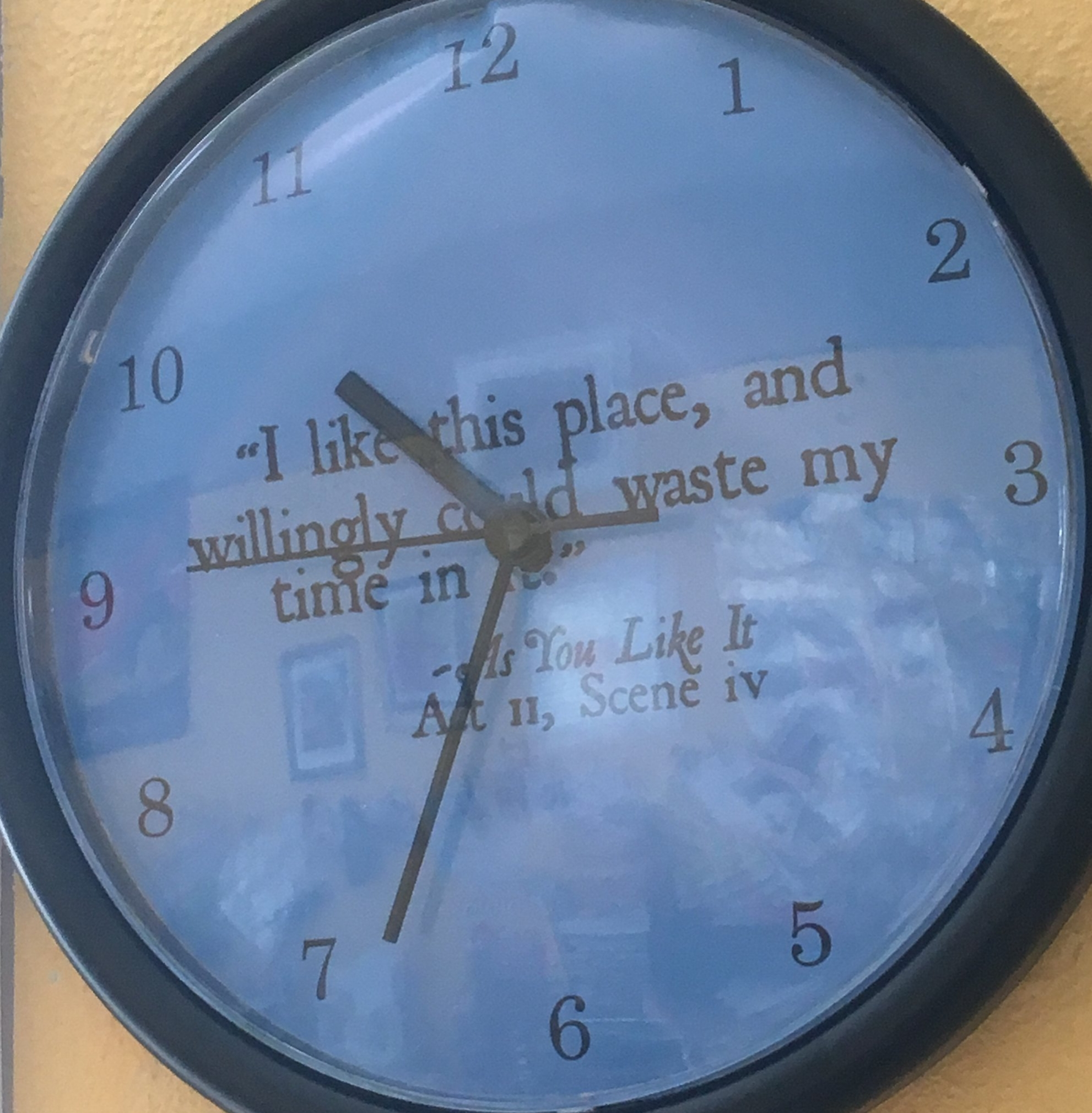 Clock in the studio. But is it not wasted time. Playtime is never wasted time, don't you agree?