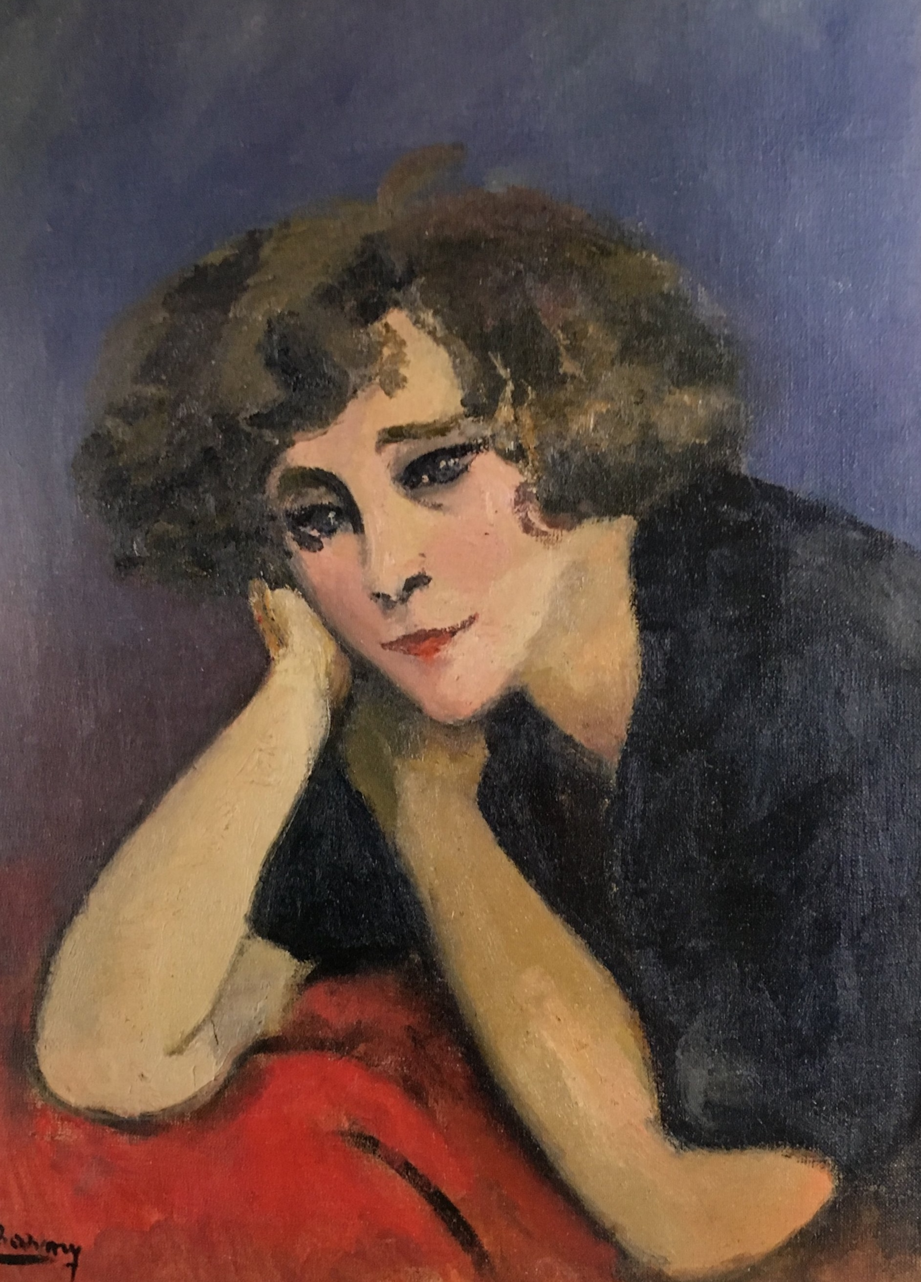 Emilie Charmy , Colette, 1921, from Women Who Write Are Dangerous