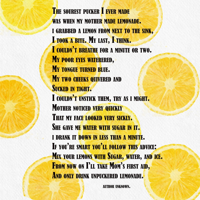 Lemons, digitally painted.
