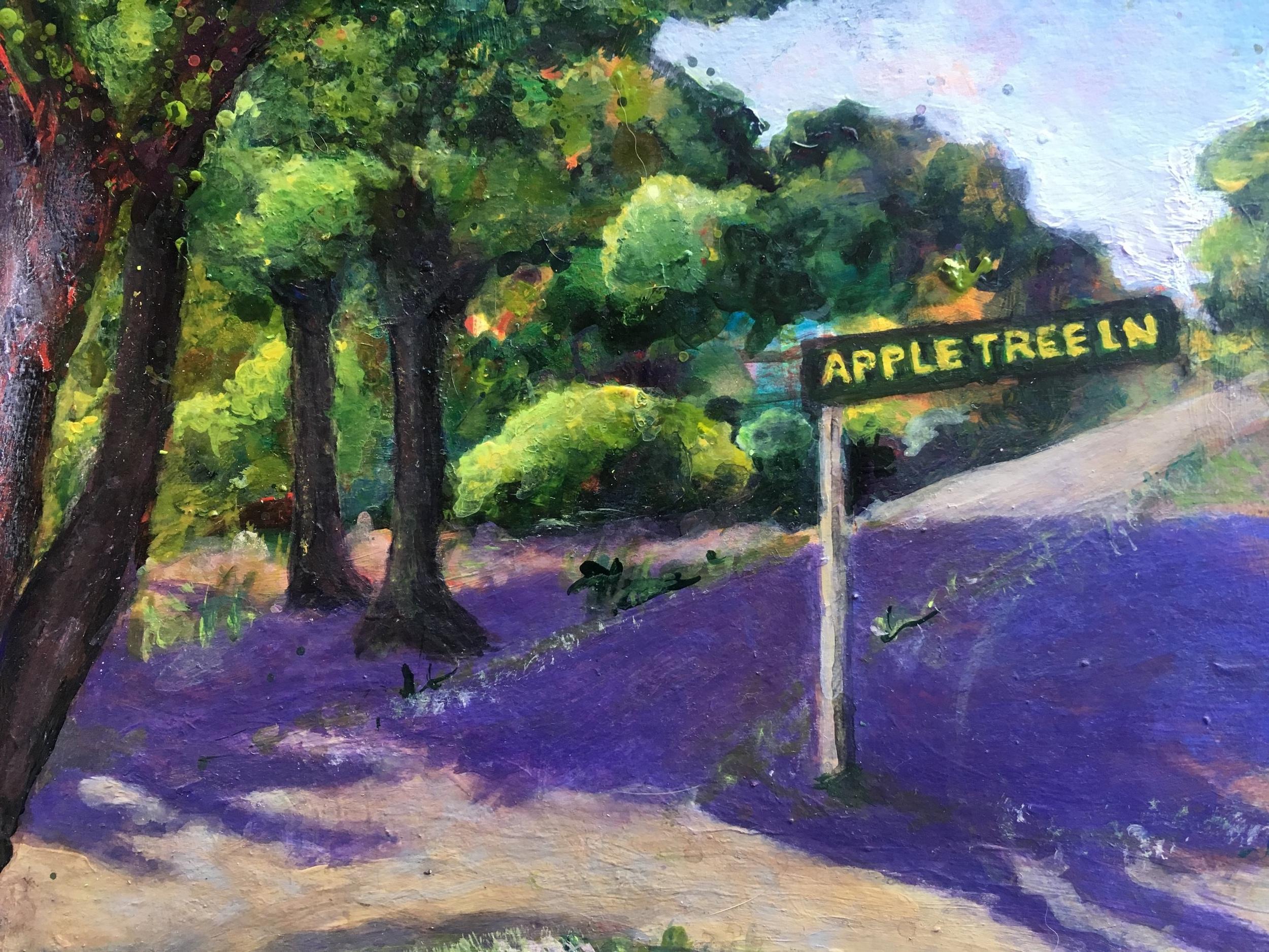 Apple Tree Lane, Lopez Island, Washington