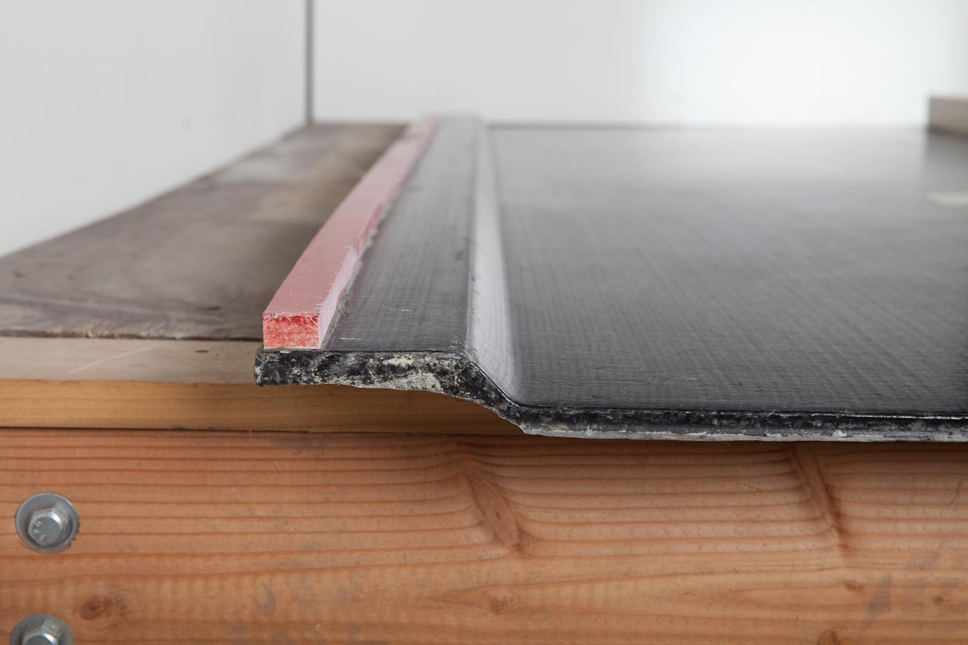 F-Com Carbon Fiber Composite Seawall Male Interlock Section