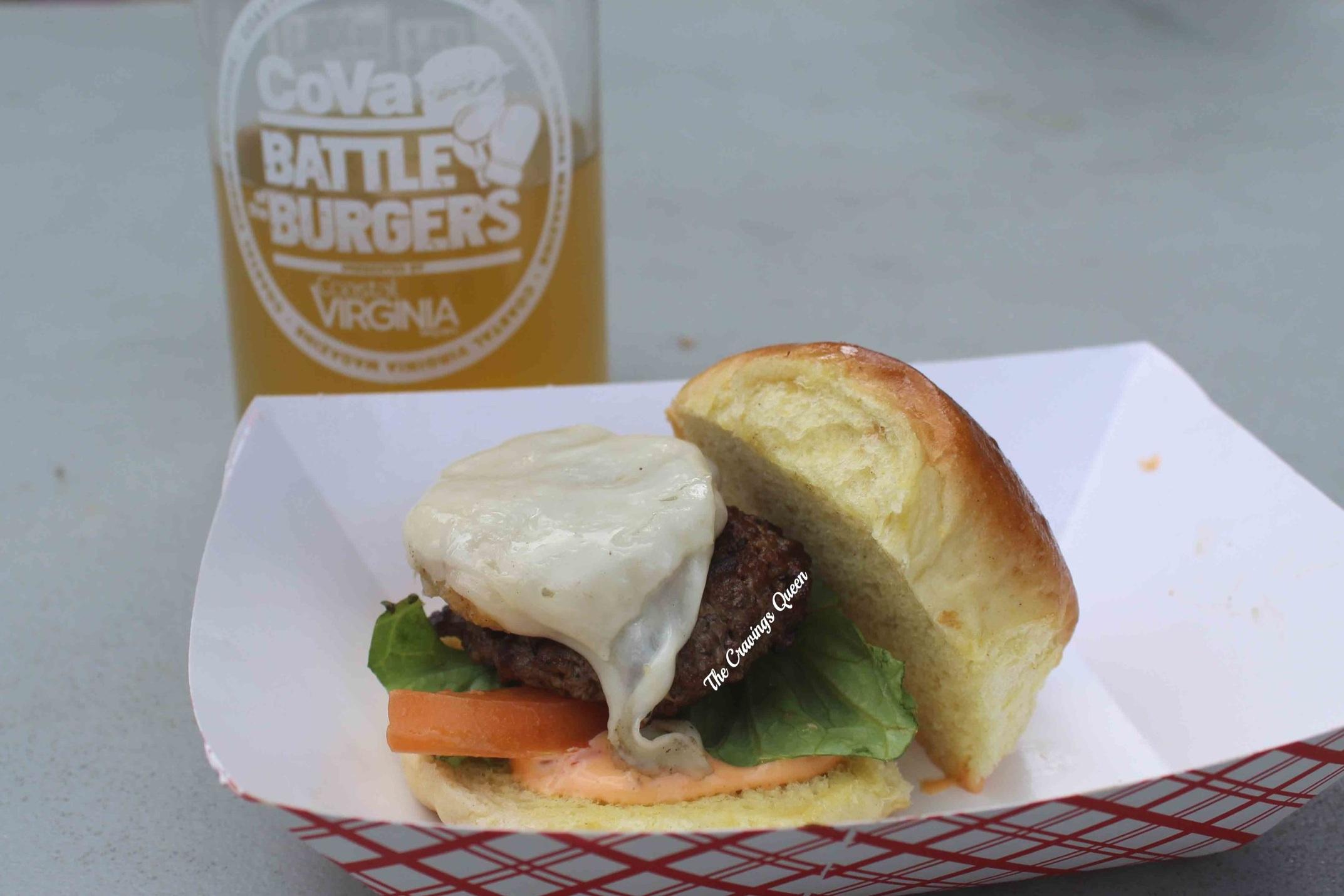 Stillwater Tavern - The Stillwater Crab Burger
