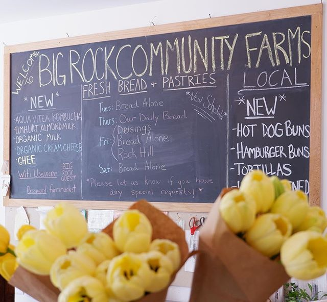 TGIF! Stop by this weekend for lots of exciting new seasonal freshness #stanfordville #bigrockcommunityfarmsmarket